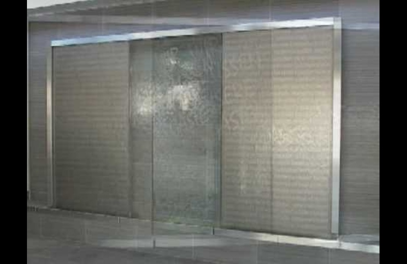 Glasobjekt Biedermannsdorf